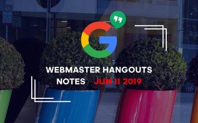 Google_webmaster_hangouts_notes_jun112019