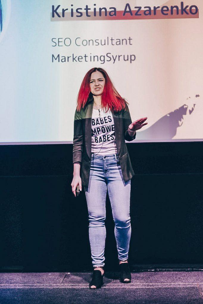 Kristina Azarenko - SEO Speaker