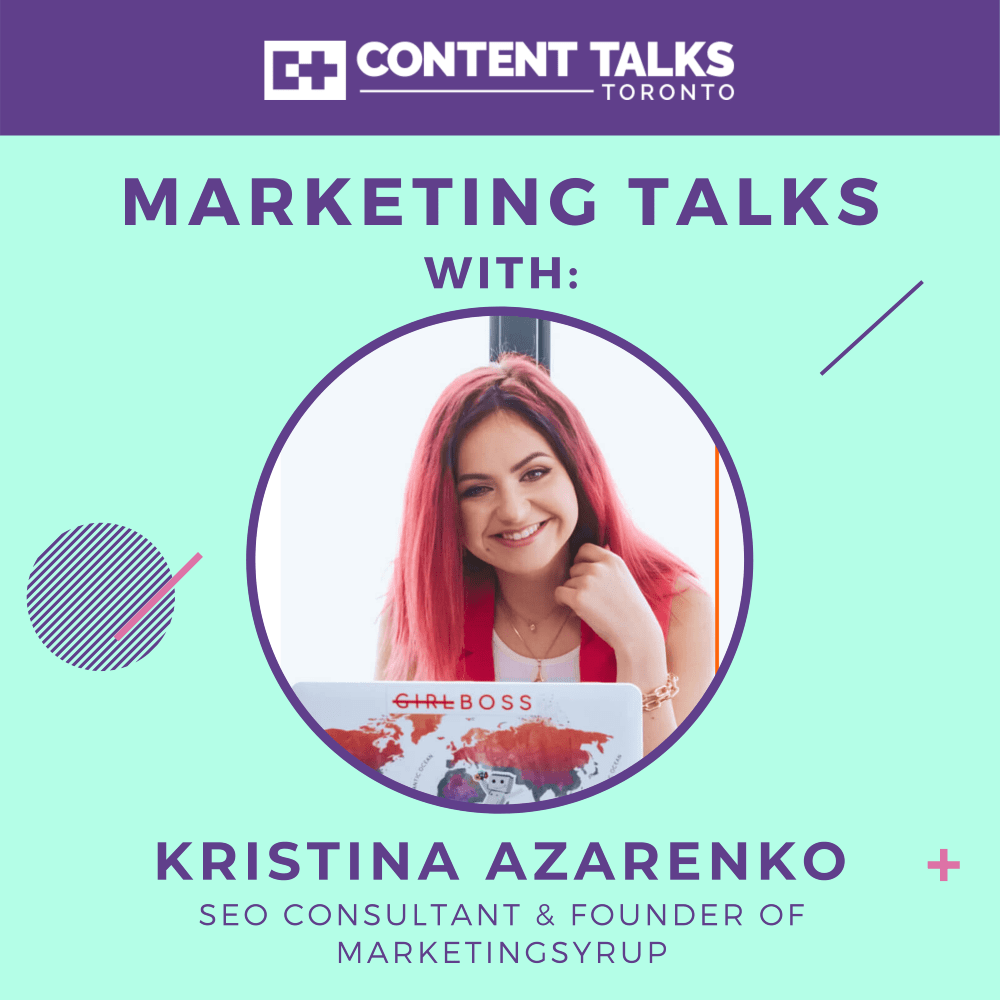 The don'ts of SEO w/ MarketingSyrup's Kristina Azarenko