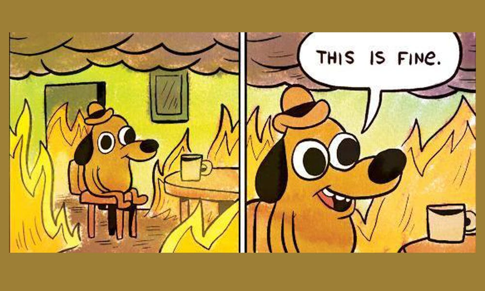 This is fine - KC Green