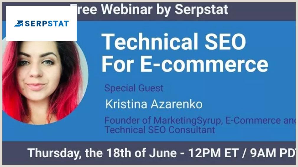 Technical SEO for eCommerce - Kristina Azarenko