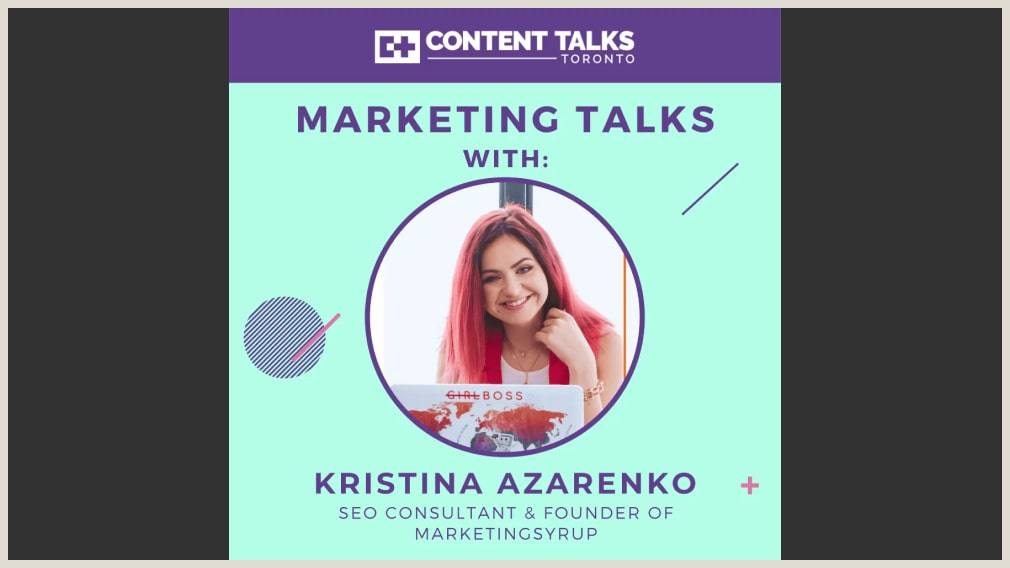 Ep. 15 - The don'ts of SEO w/ MarketingSyrup's Kristina Azarenko
