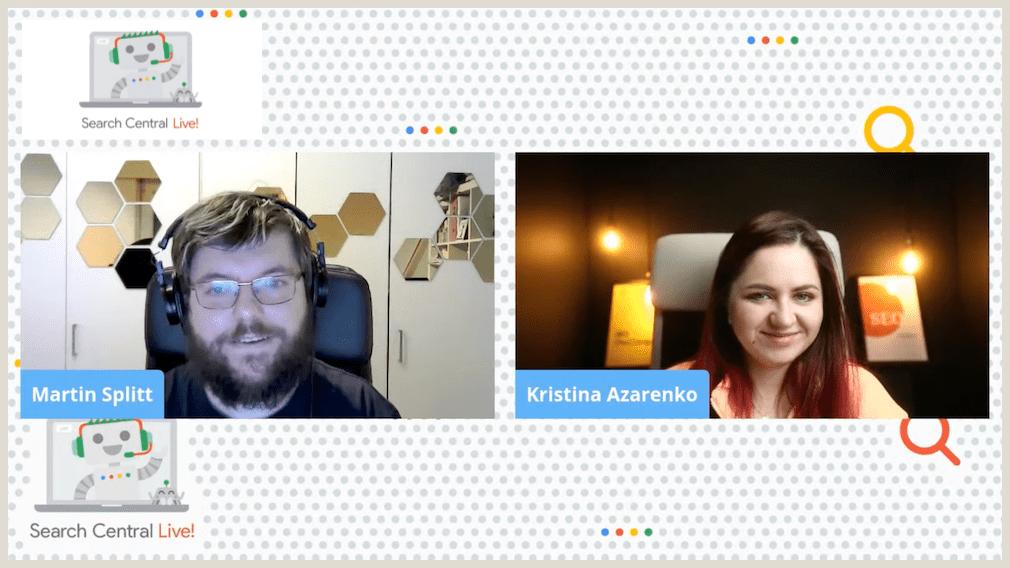 Google Search Central Live: Solving technical SEO issues - Kristina Azarenko